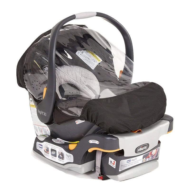Chicco KeyFit 30 infant car seat rain cover - Baby Gear Essentials