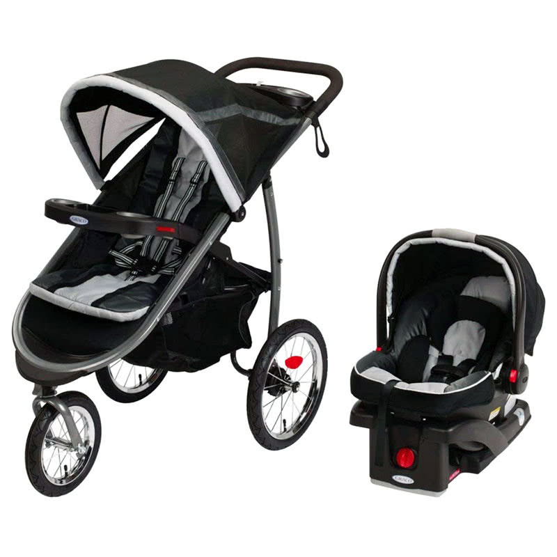 Graco Fastaction Fold Jogger Click Connect Baby Travel System - Baby Gear Essentials