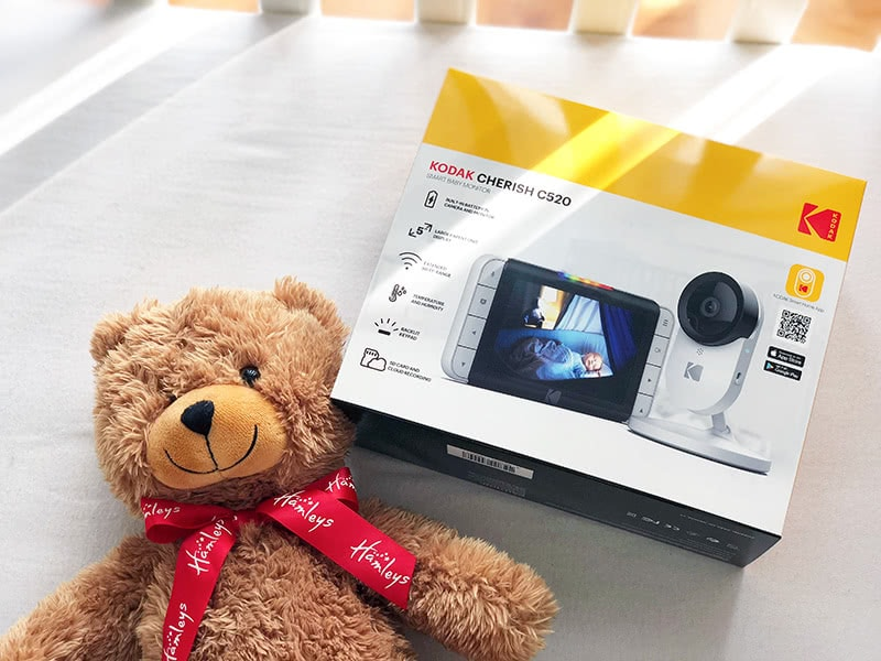 Kodak Cherish C520 monitor review box - Baby Gear Essentials