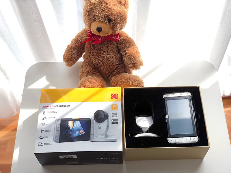 Kodak Cherish C520 review open box - Baby Gear Essentials
