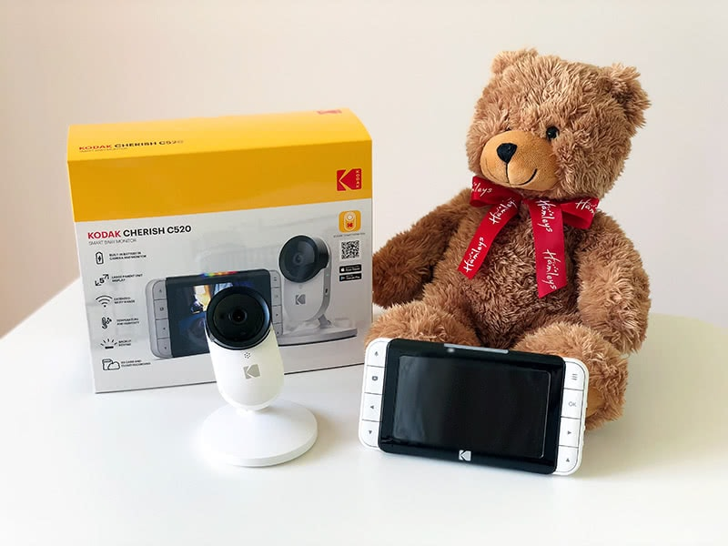 Kodak Cherish C520 review package - Baby Gear Essentials