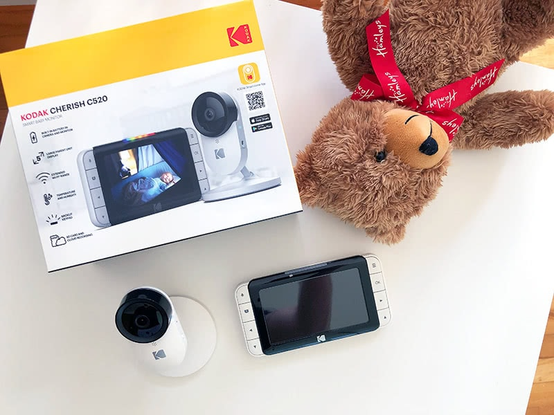 Kodak Cherish C520 review wifi monitor - Baby Gear Essentials