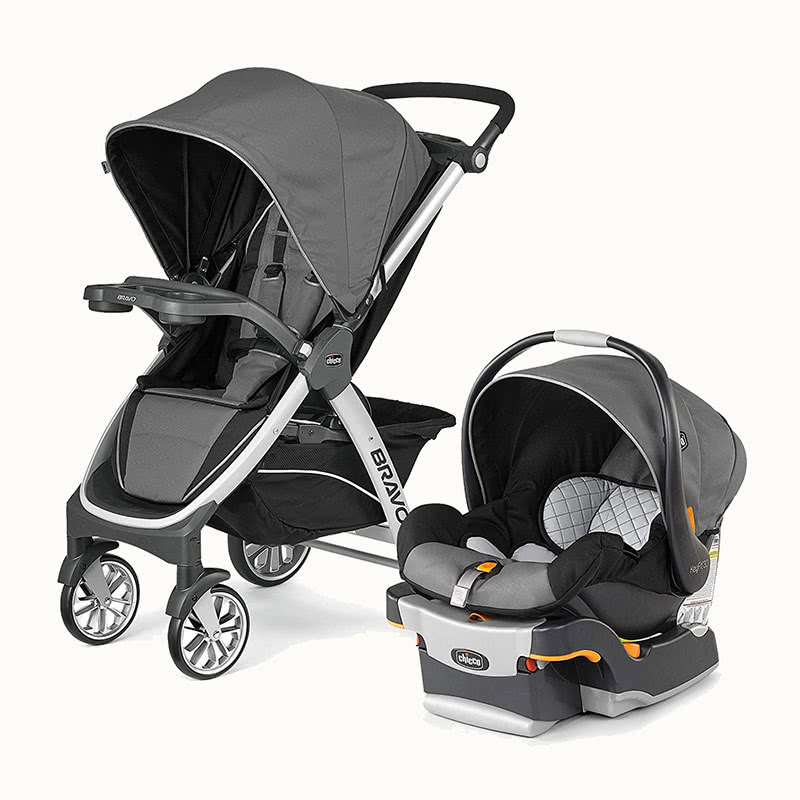 Chicco Bravo KeyFit 30 stroller car seat combination - Baby Gear Essentials