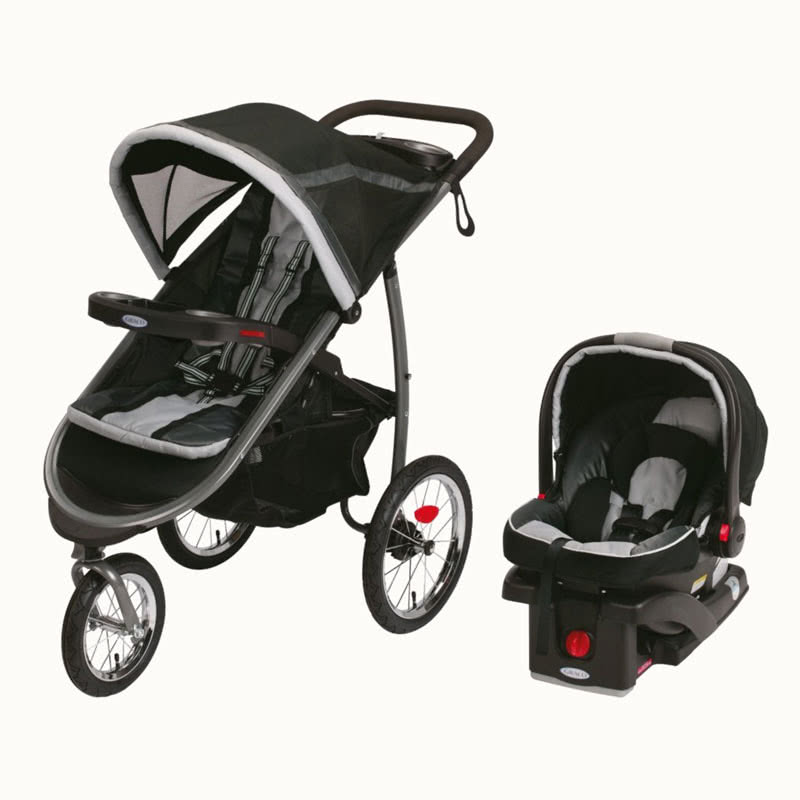 Graco Fastaction fold jogger Click Connect stroller car seat combination - Baby Gear Essentials