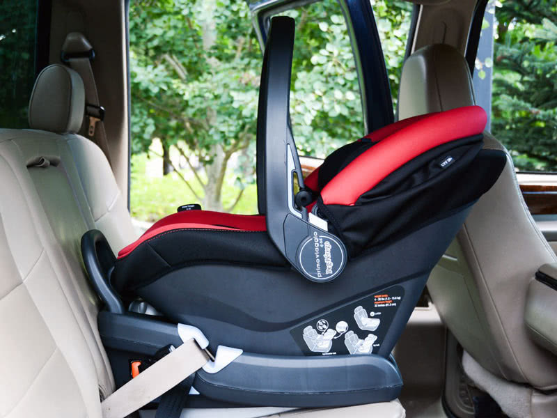 Peg Perego Primo Viaggio review infant car seat - Baby Gear Essentials