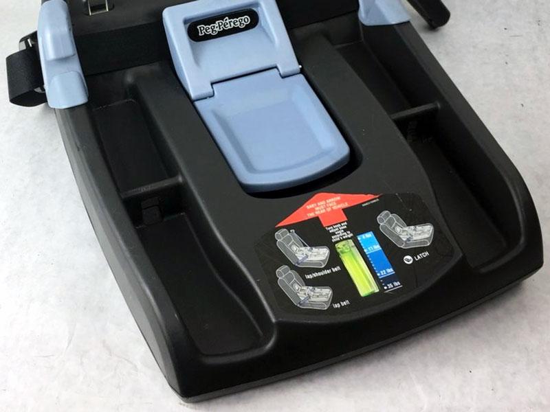 Peg Perego Primo Viaggio review base level indicator car seat - Baby Gear Essentials