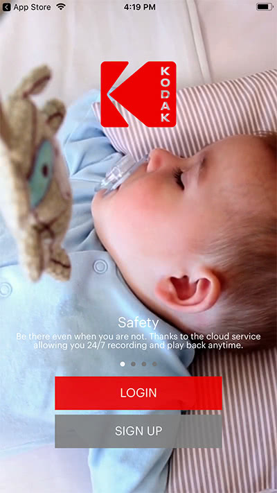 Kodak Cherish C520 mobile app Review WiFi monitor - Baby Gear Essentials