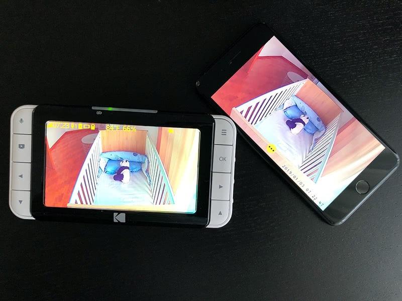 Kodak Cherish C520 review monitor phone - Baby Gear Essentials