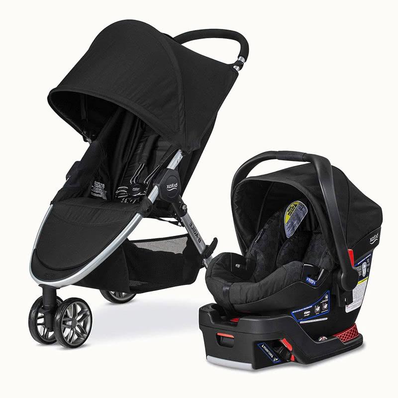 Britax B Agile B Safe 35 stroller car seat combination - Baby Gear Essentials