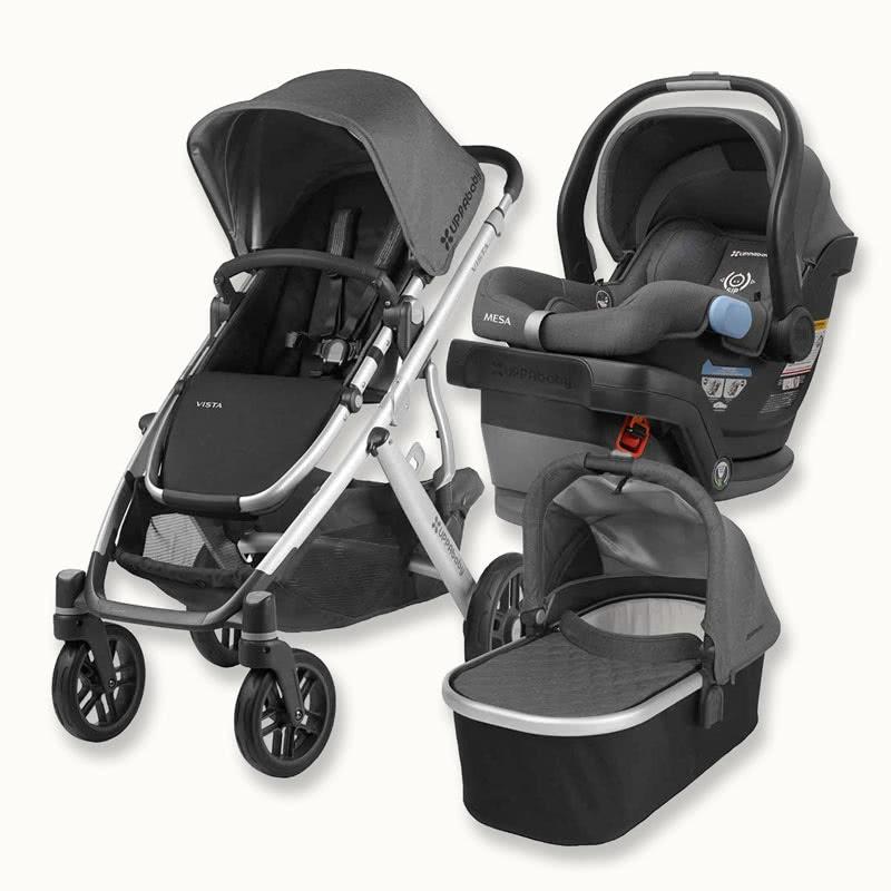UPPAbaby Vista Mesa stroller car seat combination - Baby Gear Essentials