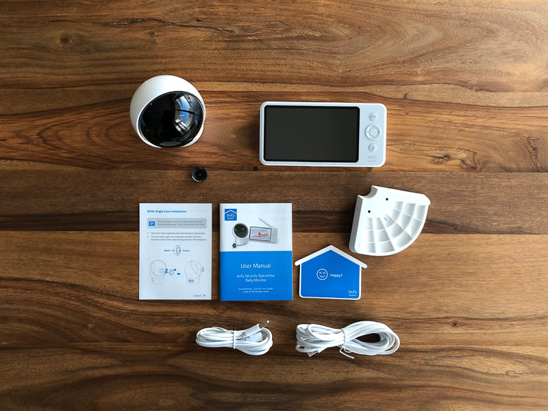 Eufy SpaceView camera included monitor review - Baby Gear Essentials
