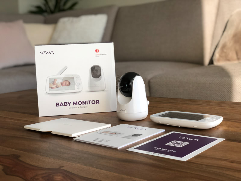 VAVA camera monitor unboxing review - Baby Gear Essentials