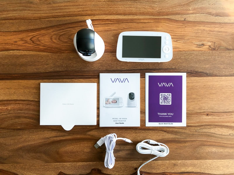 VAVA monitor unboxing review - Baby Gear Essentials