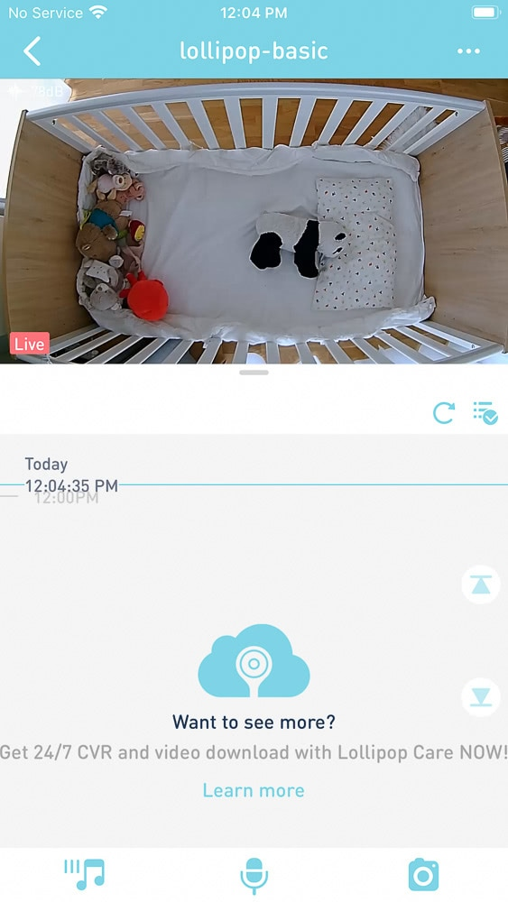 Lollipop monitor app view review - Baby Gear Essentials