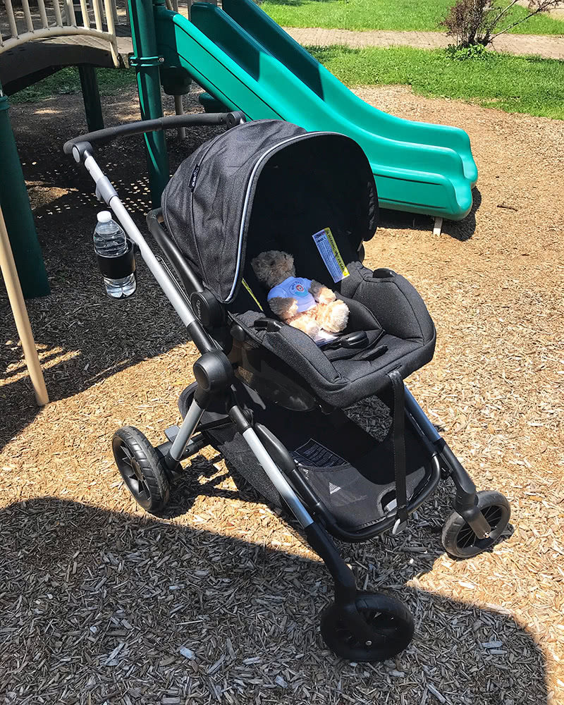 evenflo pivot xpand stroller review car seat - Baby Gear Essentials