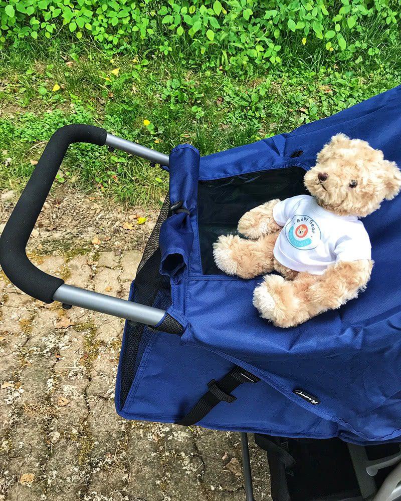 joovy zoom 360 stroller review handle running - Baby Gear Essentials
