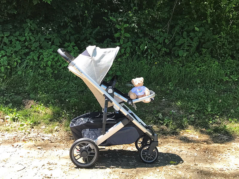 uppababy cruz v2 stroller review storage - Baby Gear Essentials