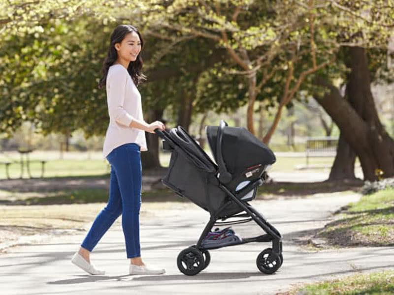 graco nimblelite stroller review storage - Baby Gear Essentials