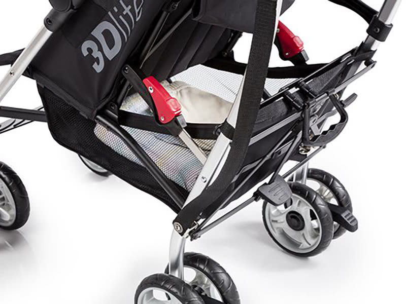summer 3dlite stroller review storage - Baby Gear Essentials
