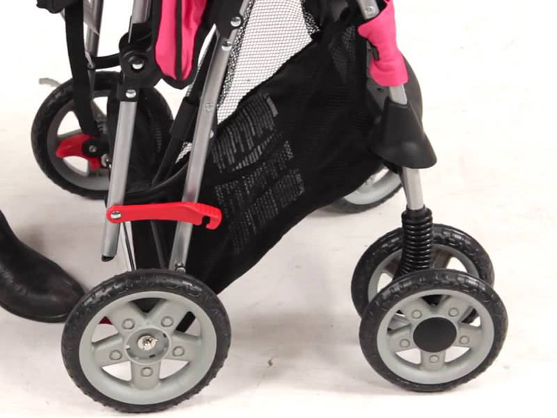 kolcraft cloud plus stroller review break - Baby Gear Essentials
