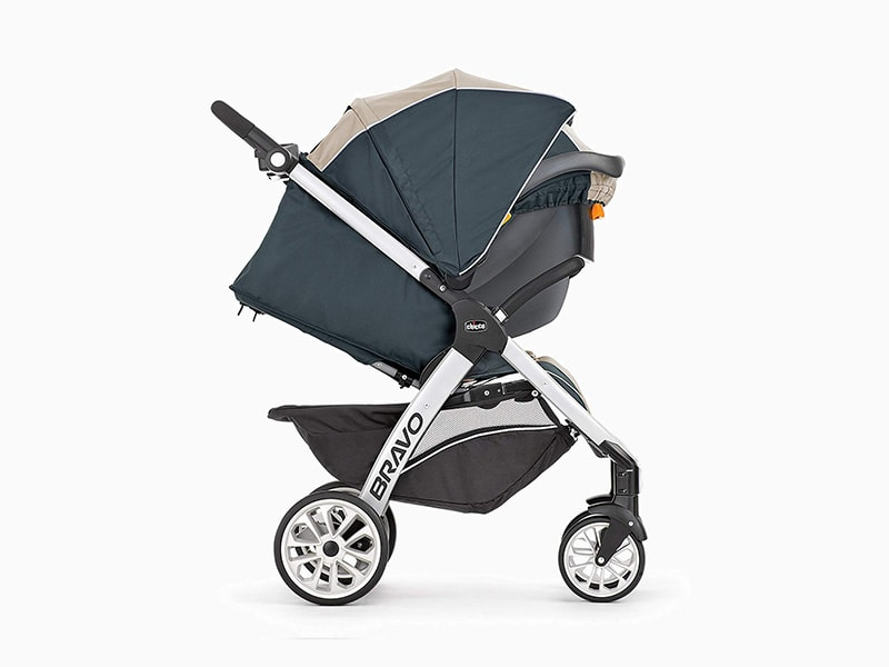 chicco bravo trio stroller review canopy - Baby Gear Essentials