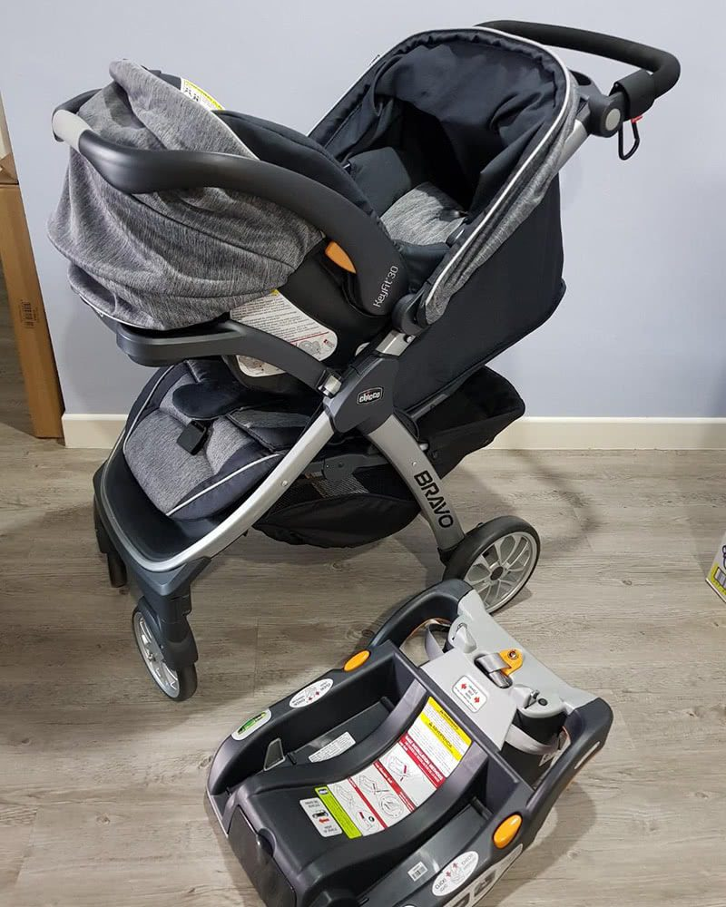 chicco bravo trio stroller review unboxing - Baby Gear Essentials