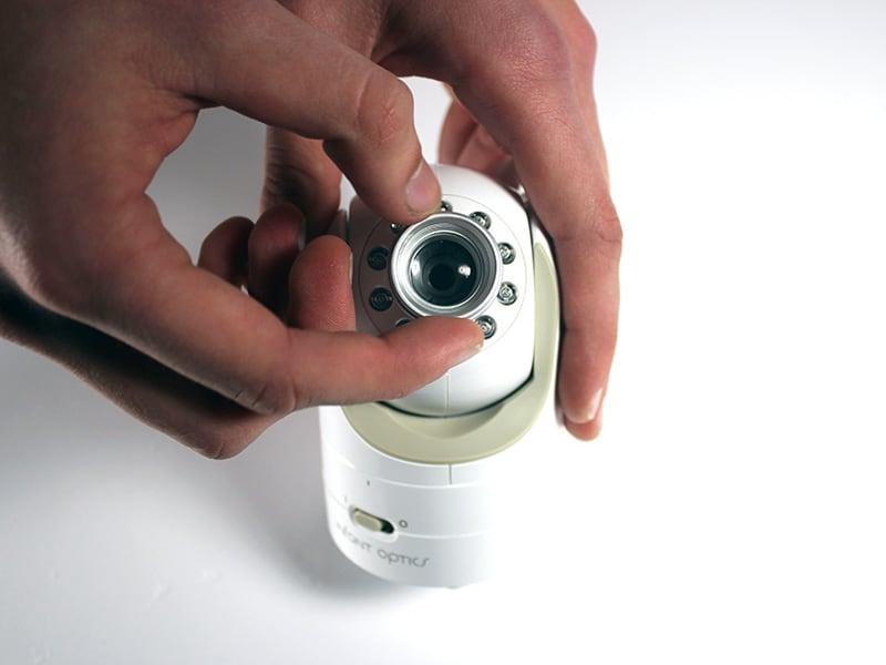 Baby Gear Essentials Infant Optics DXR-8 wide lens