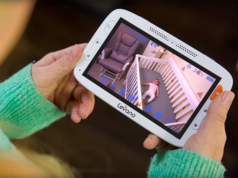 Baby Gear Essentials Levana Alexa best video monitor review