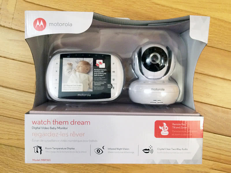Baby Gear Essentials Motorola MBP36S best baby monitor review